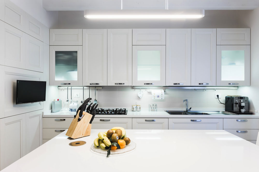 mobili cucina total white osimo