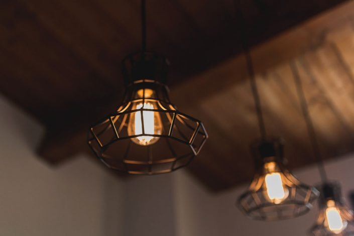 lampadari stile industriale ancona