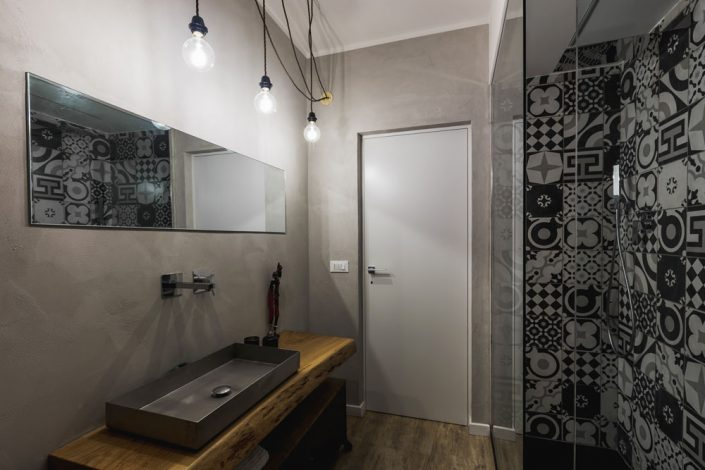 bagno stile industriale pierdominici casa