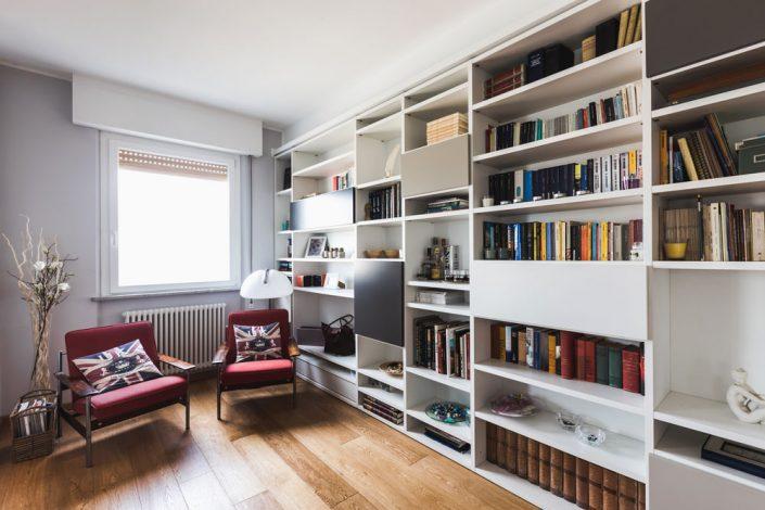 libreria parete intera pierdominici casa