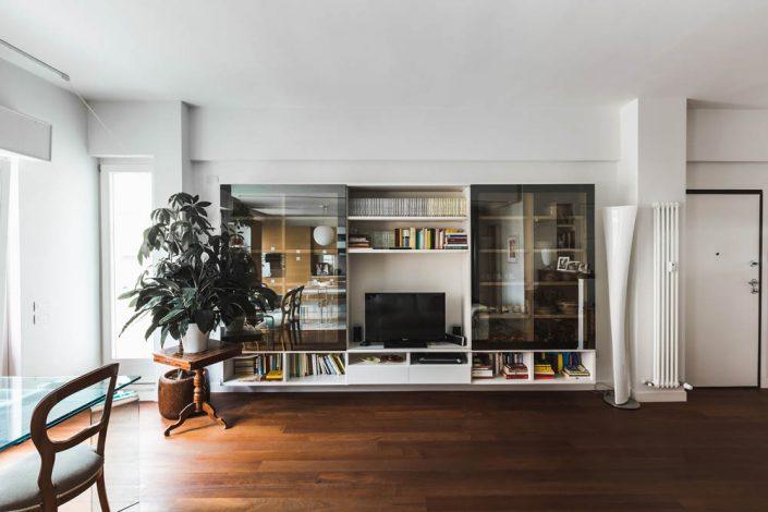 libreria soggiorno design osimo