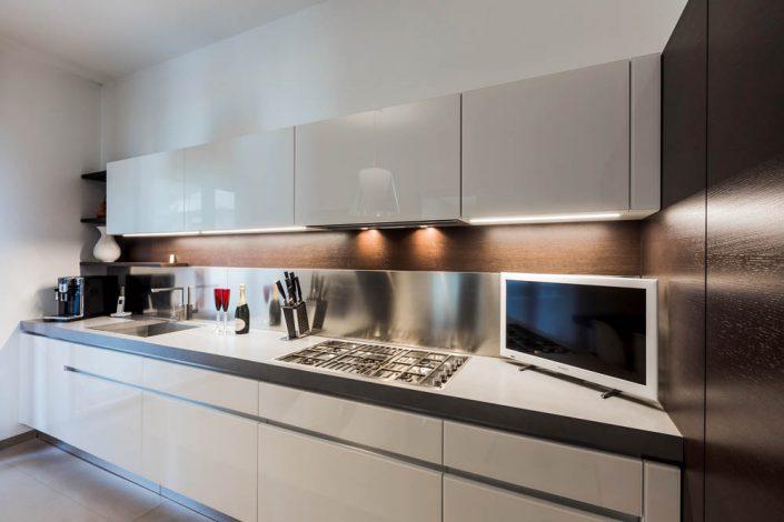 cucina lineare pierdominici casa