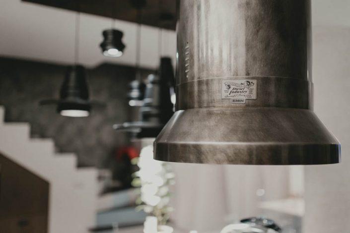 cappa cucina stile industriale osimo