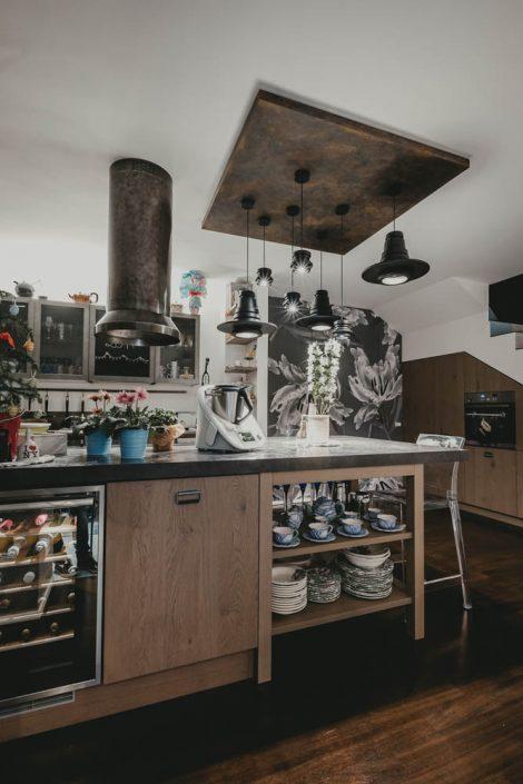 cucina con isola centrale pierdominici casa