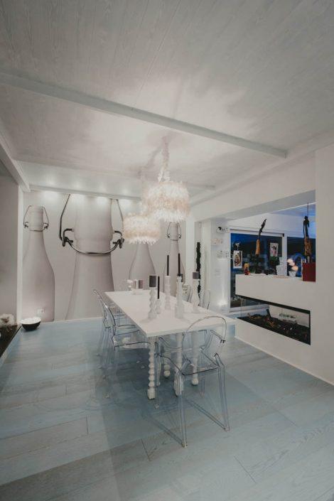 interior design total white ancona
