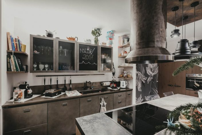 mobili cucina metallo pierdominici casa