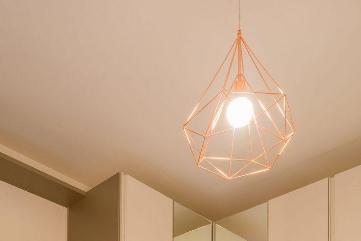 lampadari metallo design ancona