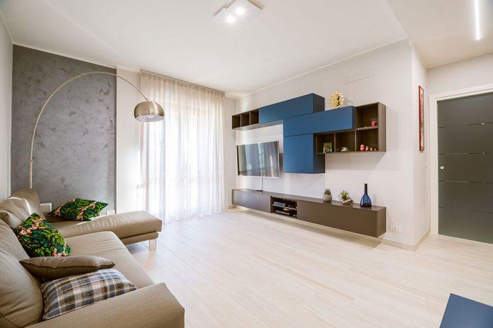 progetto zona living pierdominici casa