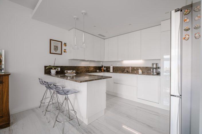 cucine con marmo ancona