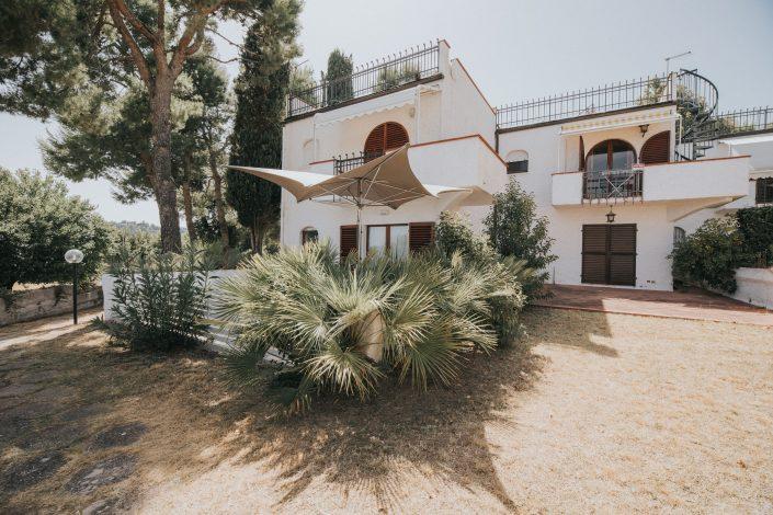 progetto interni villa mediterranea ancona