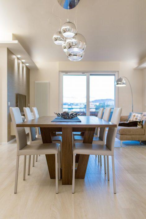 interior design zona giorno ancona