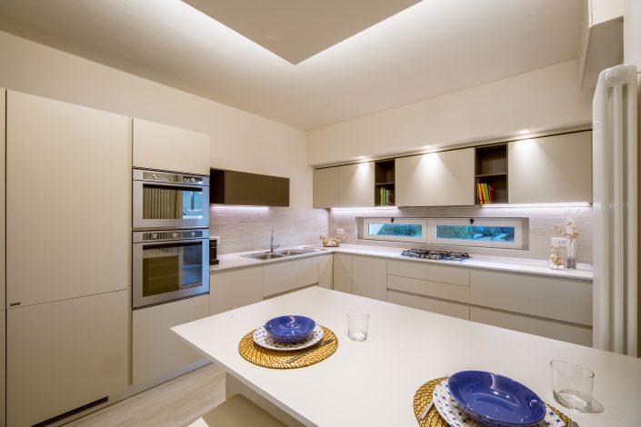 progetto luci cucina osimo