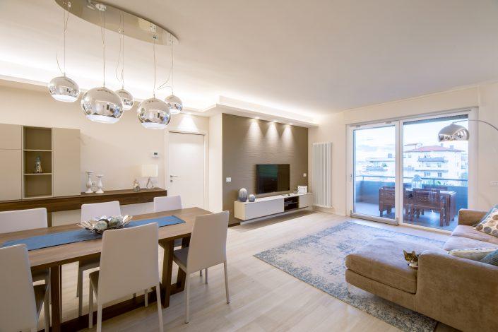interior design zona giorno pierdominici casa