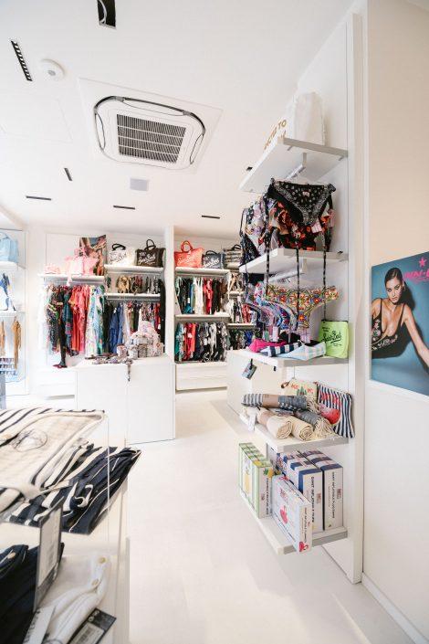 interior design showroom osimo