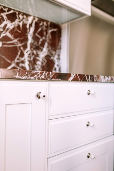 top cucina marmo ancona