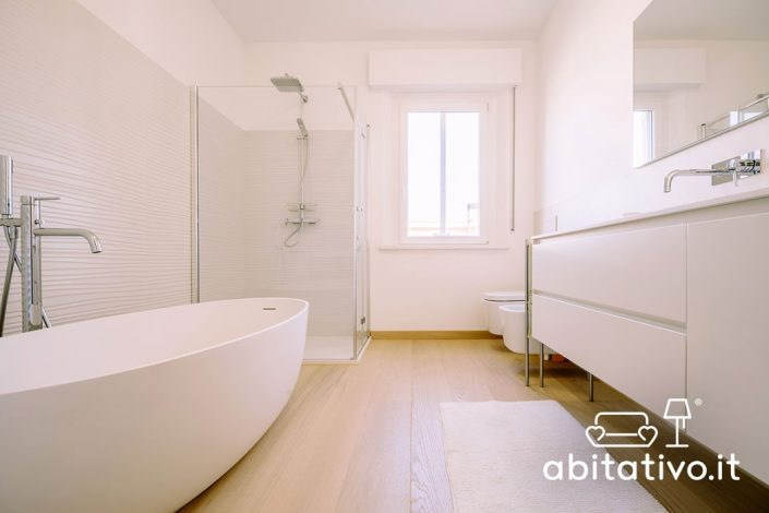 bagno total white pierdominici casa
