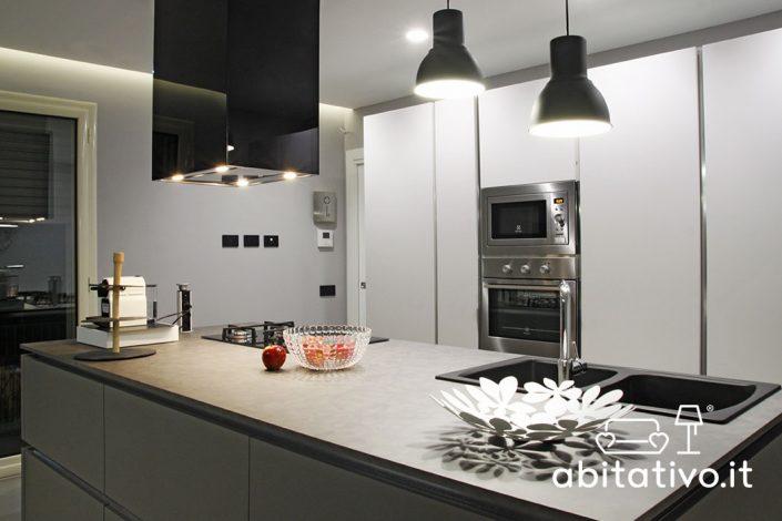 cucine con isola ancona