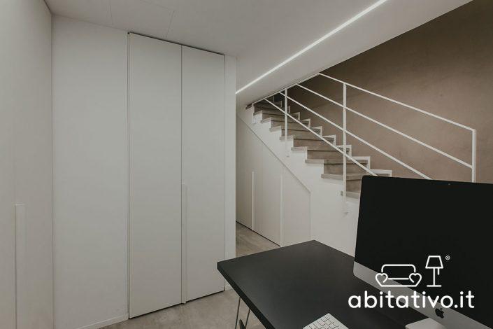 progetto interni casa ancona