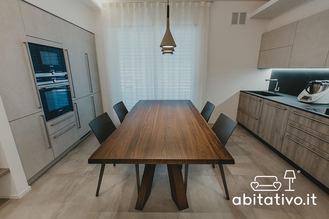 progetto cucina moderna osimo