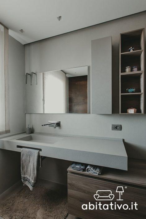progetto bagno moderno osimo