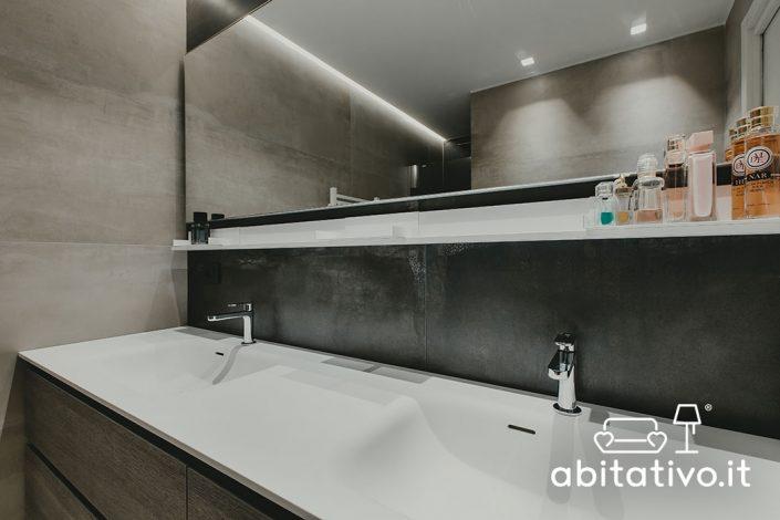 lavandino bagno doppio ancona