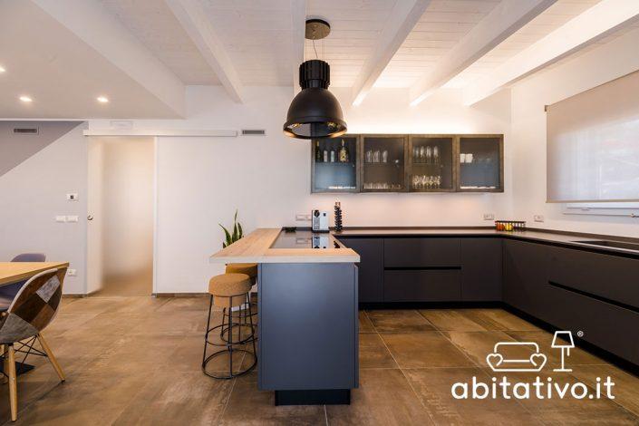 mobili cucina stile industriale ancona