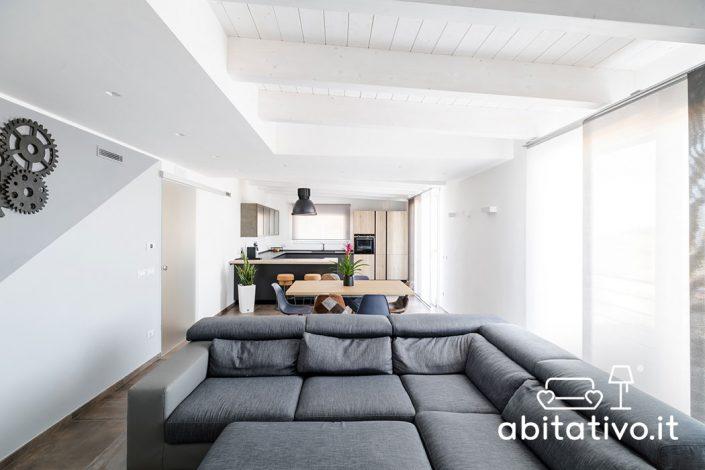 open space moderno pierdominici casa