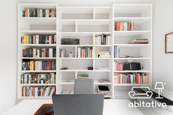 progetto mobile libreria osimo
