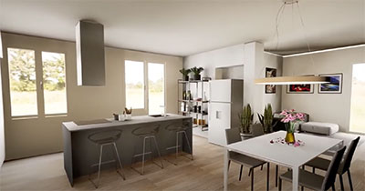 interior design open space ancona