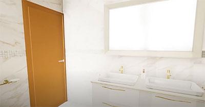 progetto bagno moderno ancona