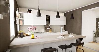 progetto cucina pierdominici casa