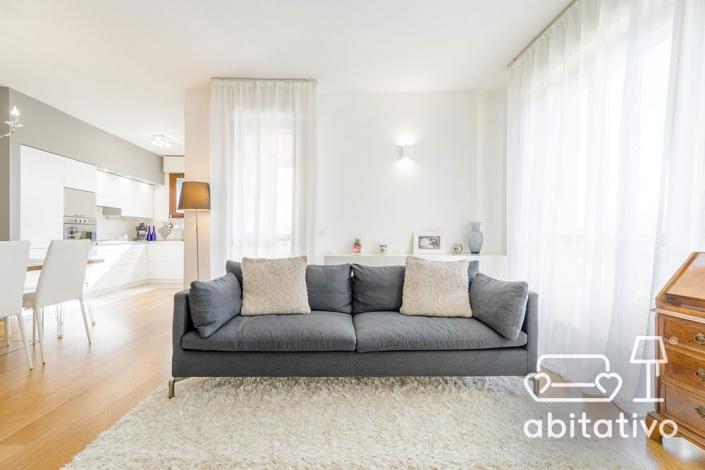 progetto soggiorno elegante osimo