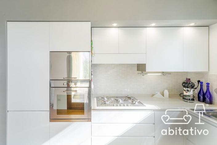 cucina total white pierdominici casa