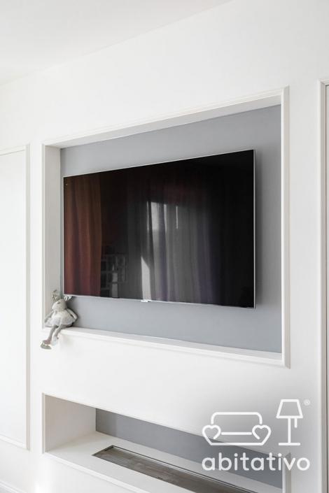 progetto parete tv pierdominici casa