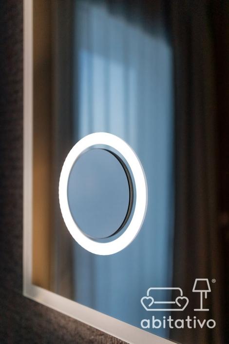 specchio illuminato design ancona
