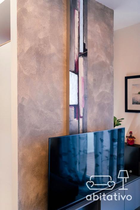 progetto pareti soggiorno ancona