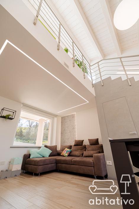 illuminazione soffitto alto ancona