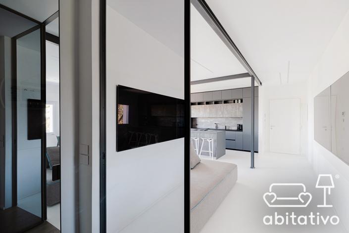 casa stile minimale ancona