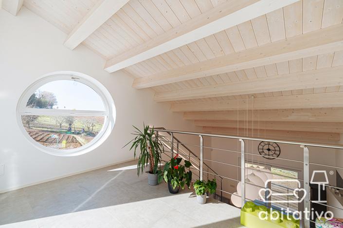 interior design mansarda ancona
