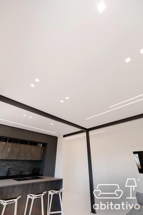 progetto illuminazione soffitto ancona