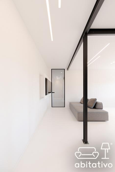 illuminazione ingresso minimale osimo