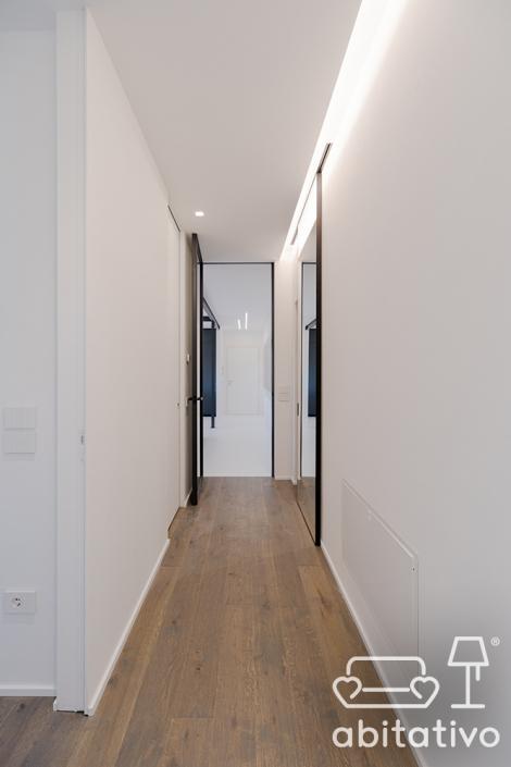 luci controsoffitto corridoio ancona