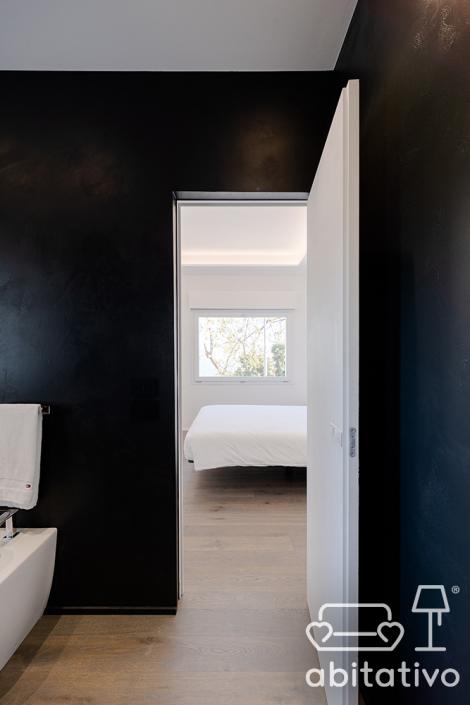 pareti bagno scuro pierdominici casa
